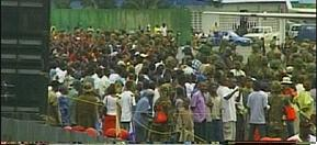 President Charles Taylor's departure - Liberia 2003